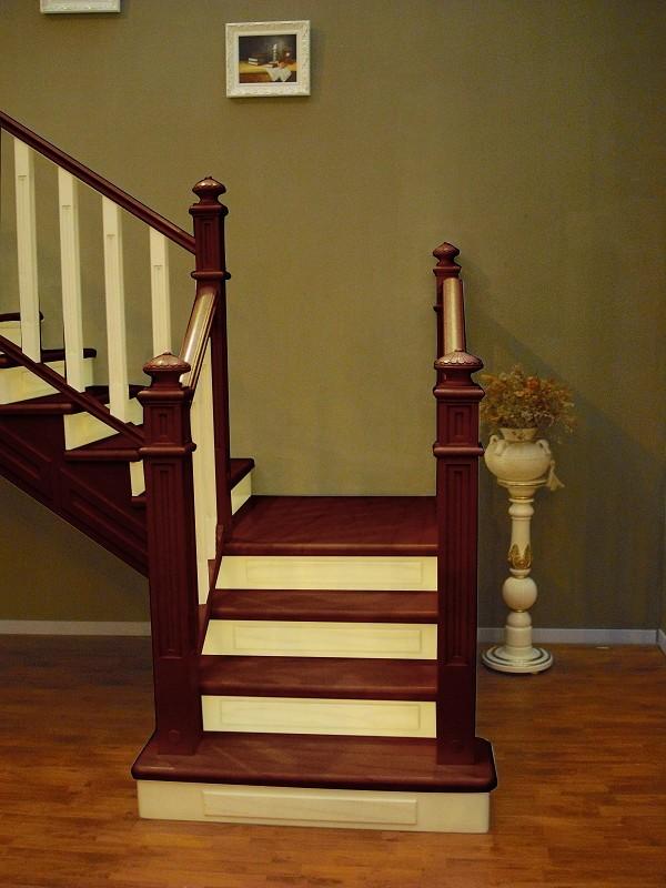 楼梯厂家直销实木楼梯 北京店面直销实木楼梯 北京品牌楼梯定制 整体